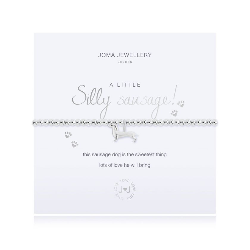 A Little Silly Sausage by Joma Jewellery