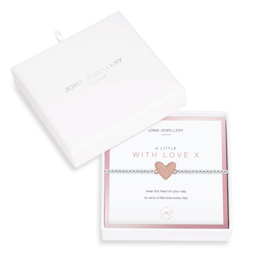 "A Little ""With Love Boxed Bracelet by Joma Jewellery"