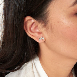 Treasure The Little Things Lucky Elephant Earrings by Joma Jewellery