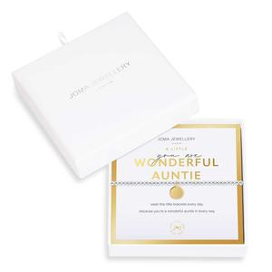 Beautifully Boxed You Are Wonderful Auntie Bracelet by Joma Jewellery