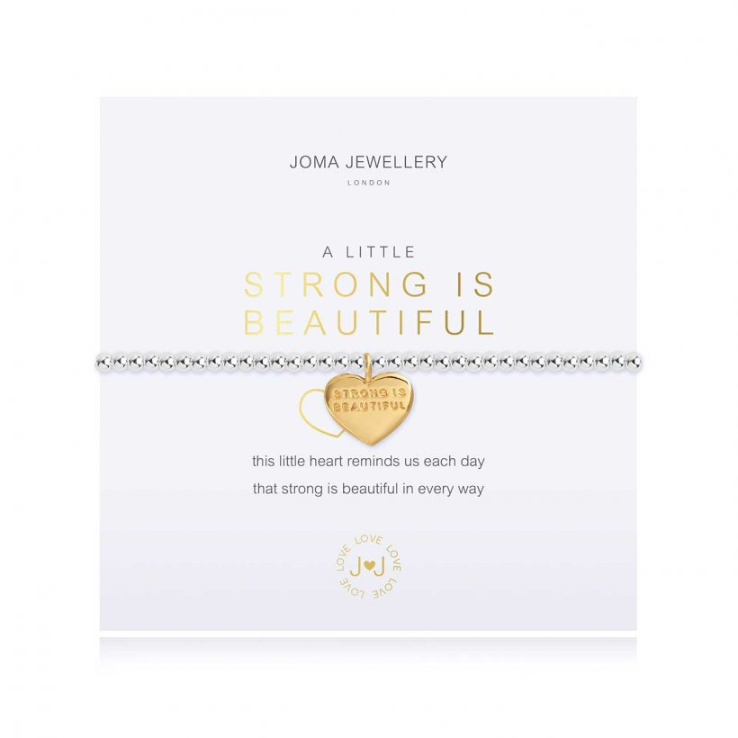 A Little Strong Is Beautiful Bracelet by Joma Jewellery - 3792