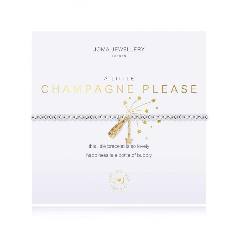A Little Champagne Please Bracelet by Joma Jewellery - 3799