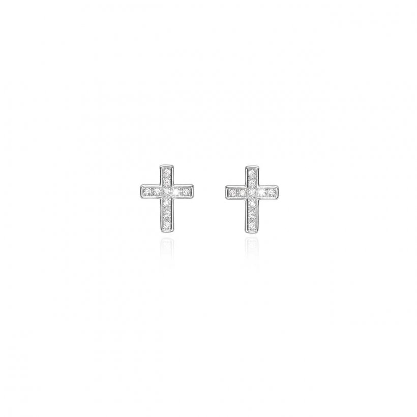 Treasure The Little Things Faith Earrings by Joma Jewellery