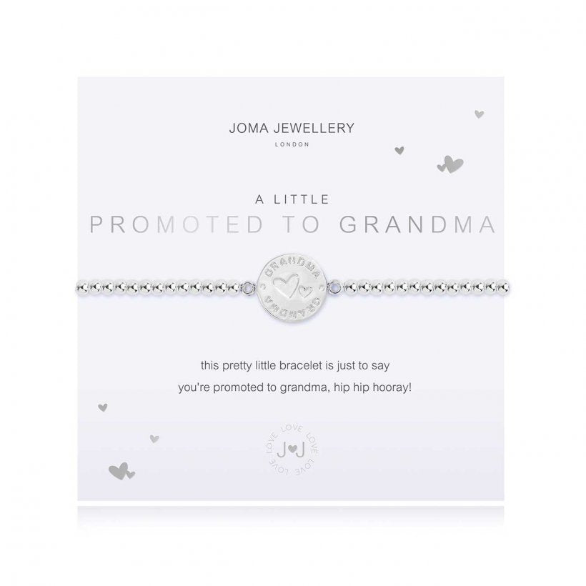 A Little Promoted to Grandma Bracelet by Joma Jewellery