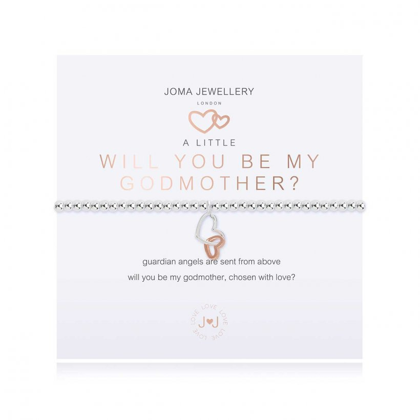 A Little Will You Be My Godmother Bracelet by Joma Jewellery
