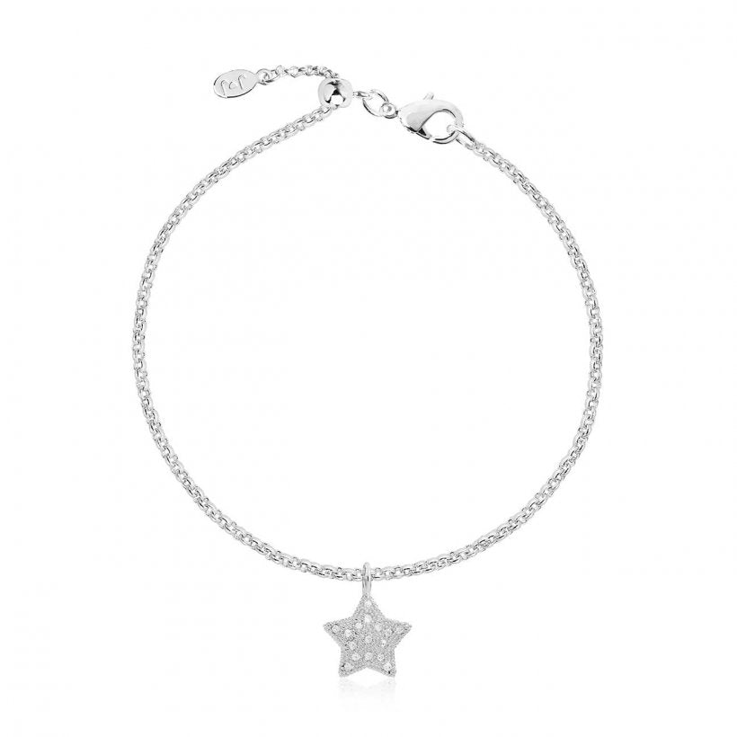 Bella Pave Star Bracelet by Joma Jewellery