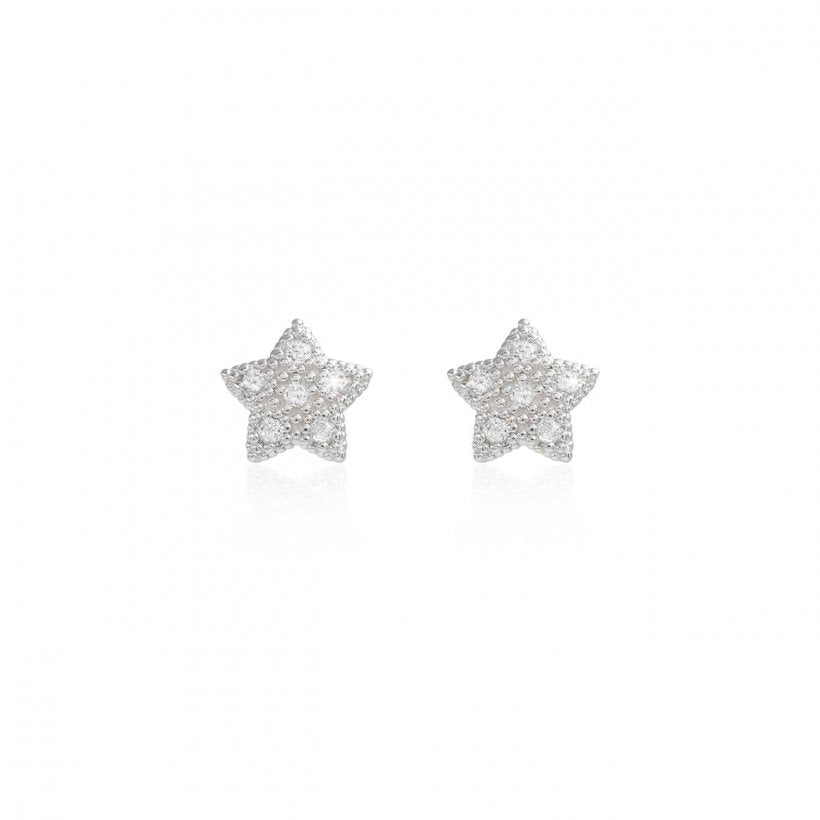 Bella Pave Star Stud Earrings by Joma Jewellery