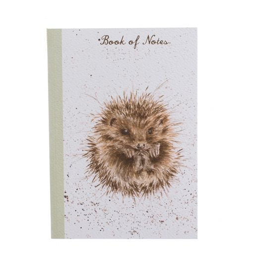 Wrendale Designs A5 Hedgehog Notebook - N004