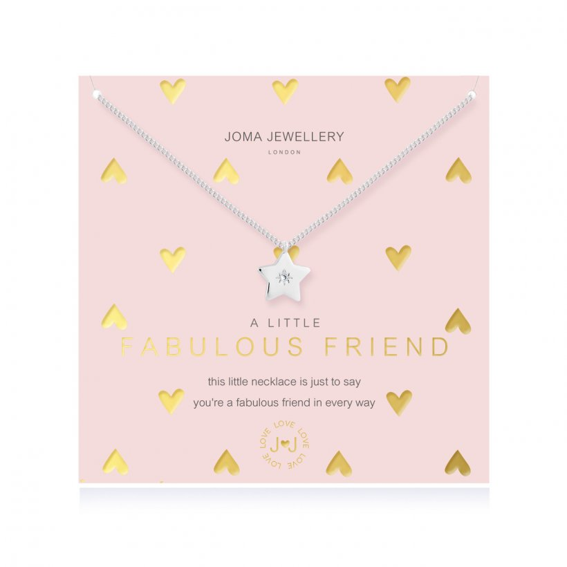 A Little Fabulous Friend Necklace by Joma Jewellery - 4387
