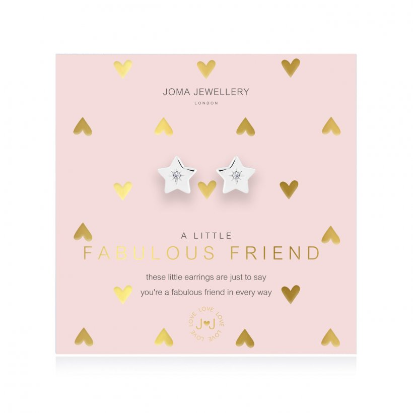 A Little Fabulous Friend Earrings by Joma Jewellery - 4388