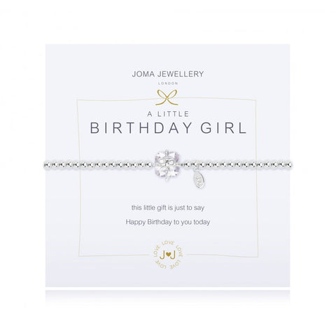 Joma Jewellery - A Little Birthday Girl Bracelet
