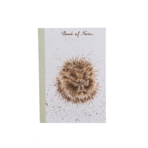 Wrendale Designs A6 Hedgehog Notebook - NO10
