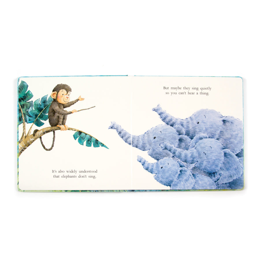 Elephants Can't Fly Book by Jellycat