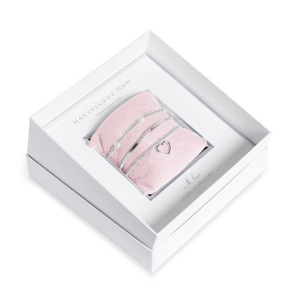 Joma Jewellery Occasion Gift Box - Marvellous Mum - 3071