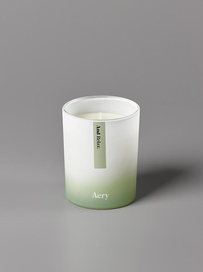 And Relax Scented Candle by Aery Living
