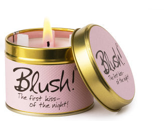 Lily-Flame Scented Candle - Blush