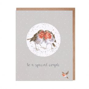 Special Couple Christmas Greetings Card by Wrendale  Designs