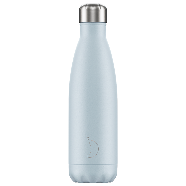 Blush Blue Bottle (500ml) by Chilly's