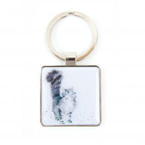 Lady of the House Keyring by Hannah Dale - Wrendale Designs - Cat