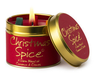 Christmas Spice Tinned Candle by Lily-Flame