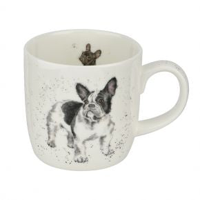 Frenchie Mug by Wrendale Designs