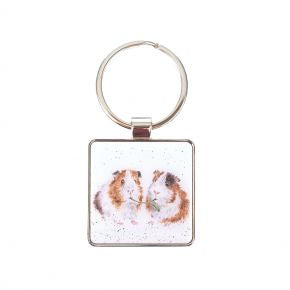 Lettuce be Friends Keyring - Wrendale Designs