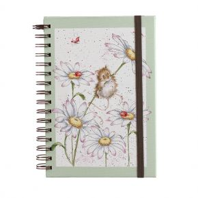 Oops a Daisy Spiral Bound Notebook by Wrendale Designs