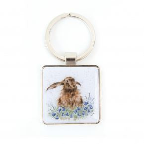 Bright Eyes Keyring by Hannah Dale - Wrendale Designs - Hare