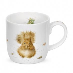 Royal Worcester Wrendale Designs Redhead Squirrel Mug