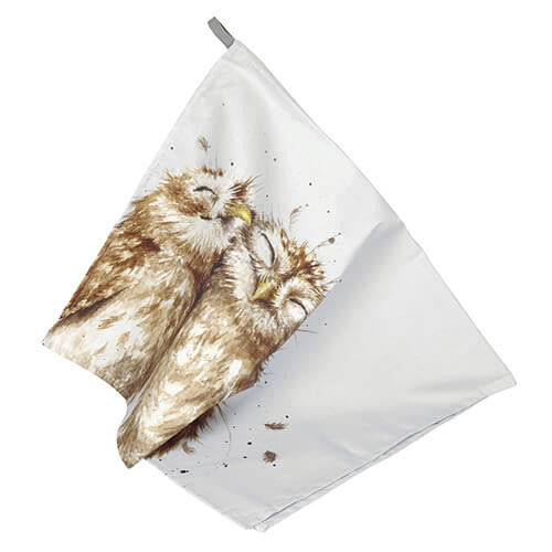 Wrendale Designs Tea Towel - Owl