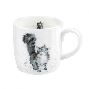 Royal Worcester Wrendale Designs Lady of the House Cat Mug