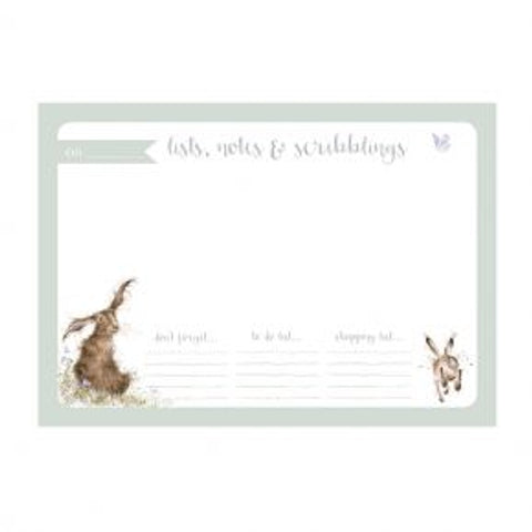 Wrendale Designs Desk Pad Hare - DP004