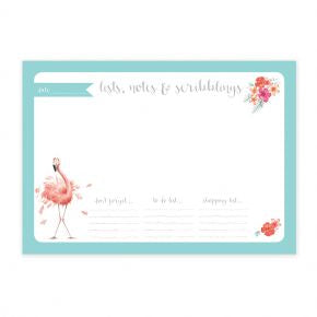 Wrendale Designs Desk Pad Flamingo - DP001