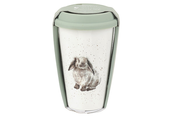 Wrendale Designs Rabbit Travel Mug - WNLS78753-XW