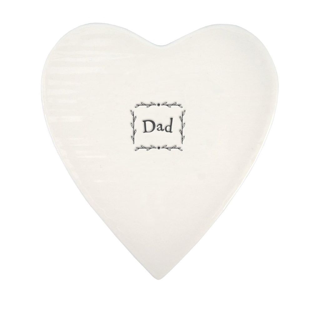 East of India Porcelain Coaster Dad - 95b