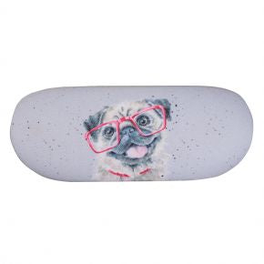 Wrendale Designs Pug Glasses Case - GLC01