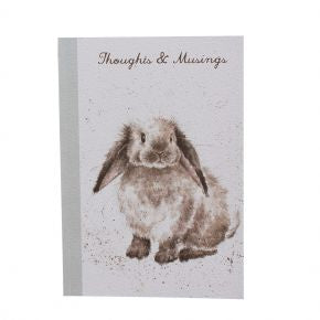 Wrendale Designs A5 Rabbit Notebook - N018