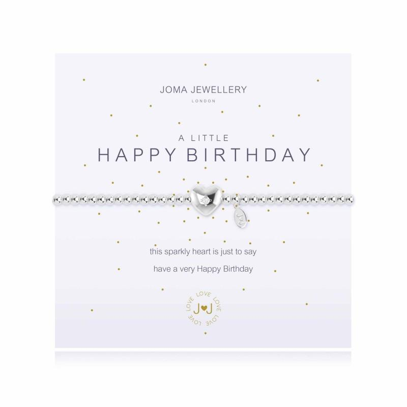 Joma Jewellery - A little Happy Birthday | Two Spotty Dogs