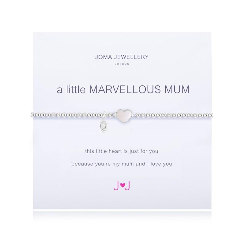 Joma Jewellery A Little Marvellous Mum Bracelet - 1675 | Two Spotty Dogs