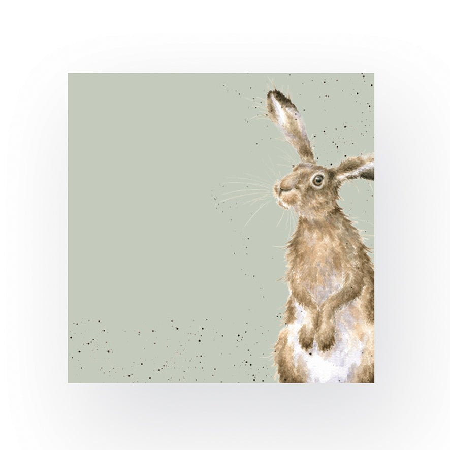 The Hare And The Bee Napkin by Wrendale Designs