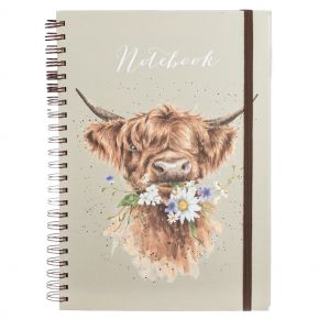Daisy Coo A4 Notebook by Wrendale Designs