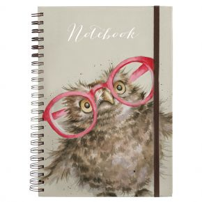 Spectacular (Owl) A4 Notebook by Wrendale Designs