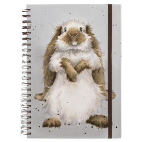 Earrisistable (Rabbit) A4 Notebook by Wrendale Designs