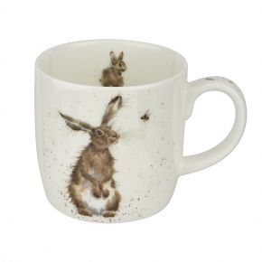 The hare and the bee mug by Wrendale Designs
