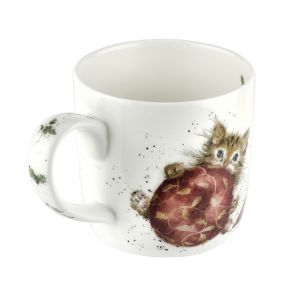 Purrfect Christmas Kitten Mug by Wrendale Designs