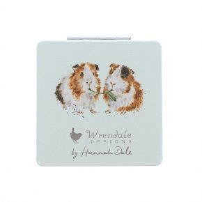 Piggy in the Middle Comoact Mirror by Wrendale Designs