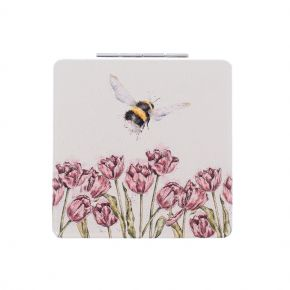Flight of the Bumblebee Compact Mirror by Wredale Designs
