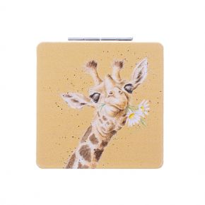 Flowers Giraffe Compact Mirror by Wrendale Designs