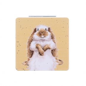 Rabbit Compact Mirror by Wrendale Designs