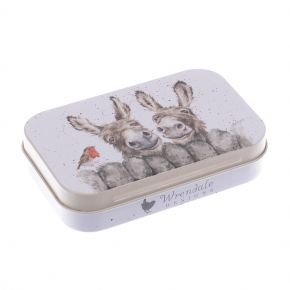 Hee Haw (Donkey) Mini Tin by Wrendale Designs